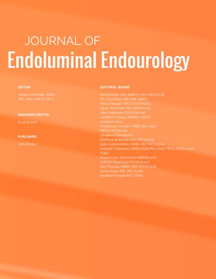 Editorial Team   Journal of Endoluminal Endourology